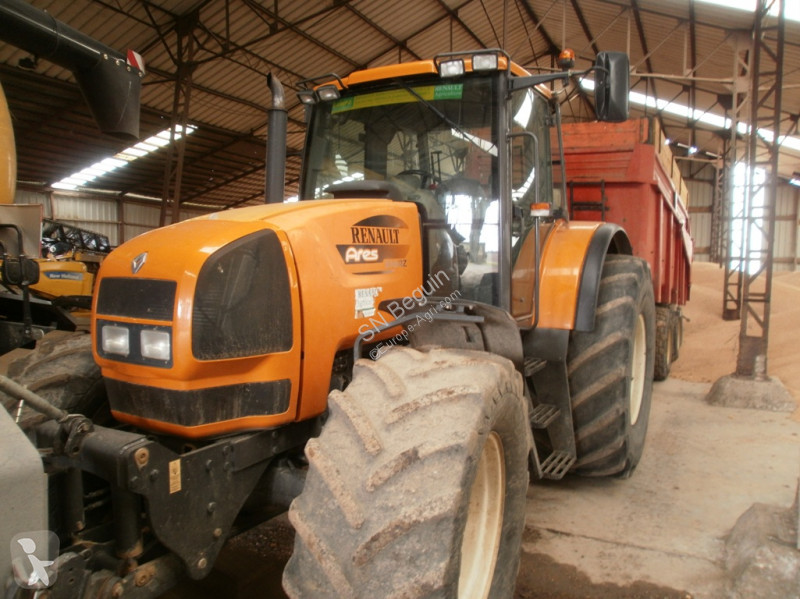 tracteur agricole renault ares 725rz occasion