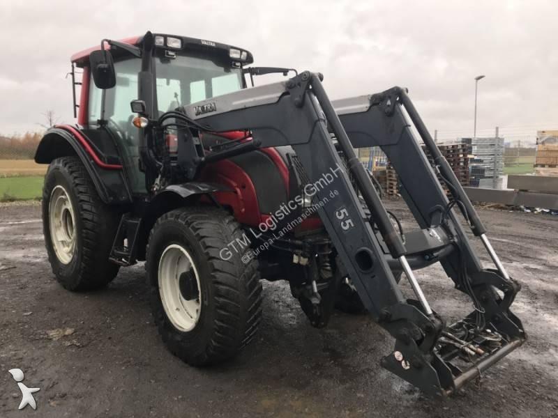 Valtra N111 E loader / lader Landwirtschaftstraktor