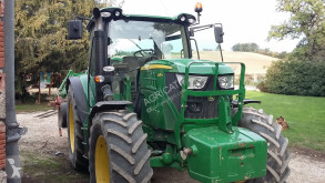 John Deere 6125 R + H340 farm tractor