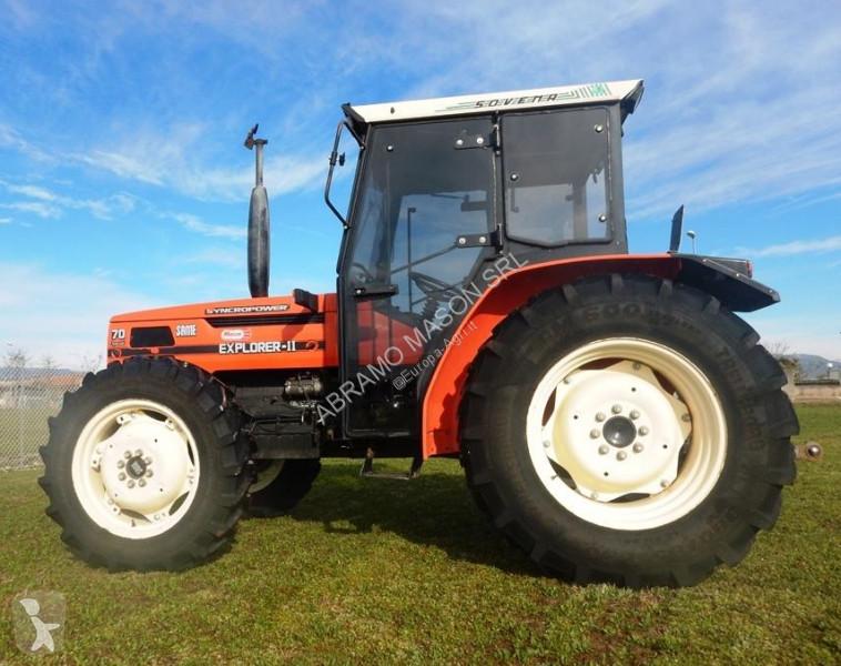 Same EXPLORER 70 DT con cabina Sovema farm tractor