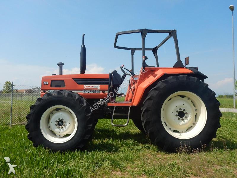 Same EXPLORER 70 DT, freni ad aria farm tractor