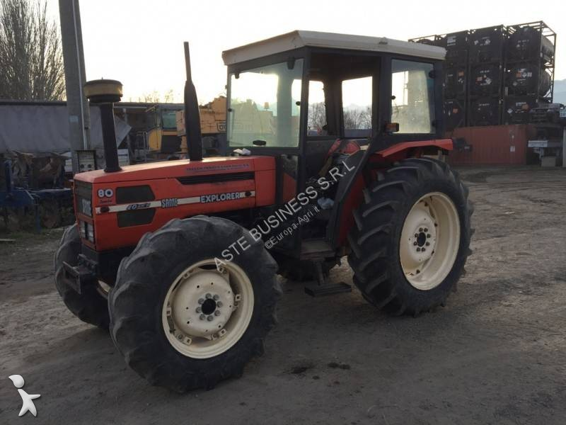 Same Explorer 80 farm tractor