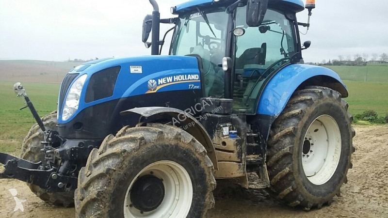 Tracteur agricole New Holland T7.200 RANGECOM
