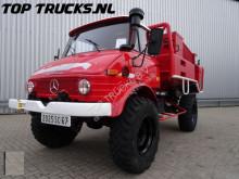 Mercedes Unimog Rocher 416, Sides feuerwehr - fire brigade - brandweer, Pomp. farm tractor