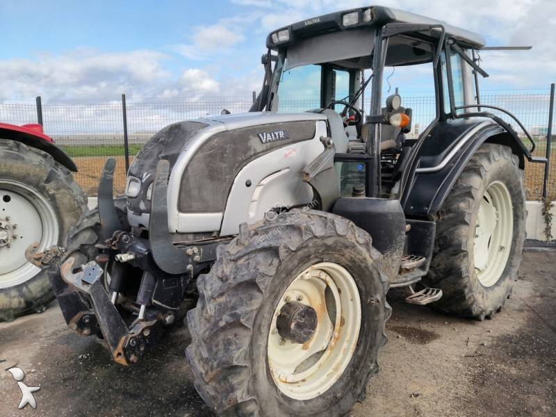 Tracteur agricole Valtra N101 *ACCIDENTE*DAMAGED*UNFALL*