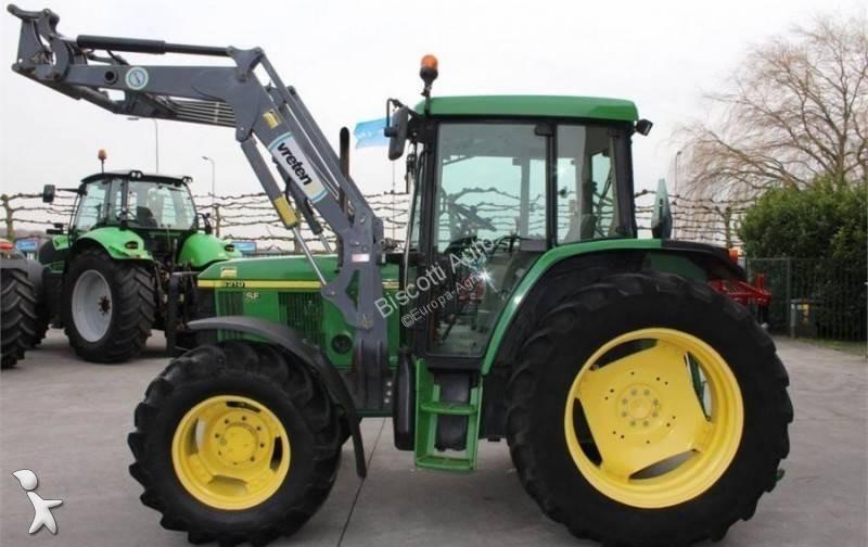 John Deere 6210SE farm tractor