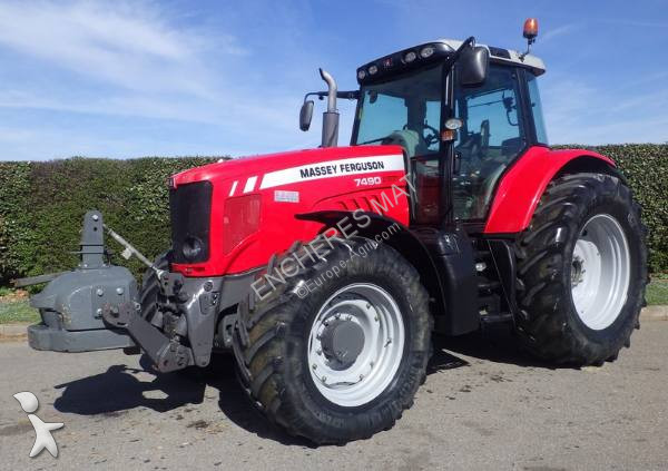 Tracteur agricole Massey Ferguson 7490 dyna vt vario