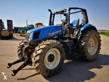 tracteur agricole New Holland T6-155 *ACCIDENTE*DAMAGED*UNFALL*