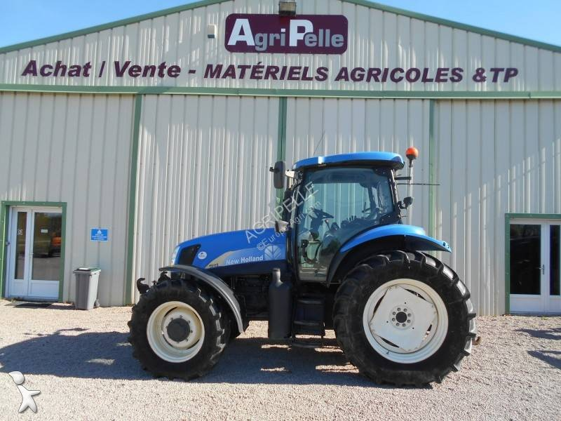 New Holland TS115A farm tractor