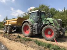 tracteur agricole Fendt 824 VARIO PROFI PLUS + BENNE