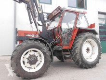 tracteur agricole Fiat 70-88 DT + Stoll Frontlader