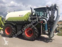 trattore agricolo Claas Xerion 3800 ST mit SGT Aufbaufaß und Anhänger inkl. Bomech Verteiler, 18m AB, 32 m3 Gülle