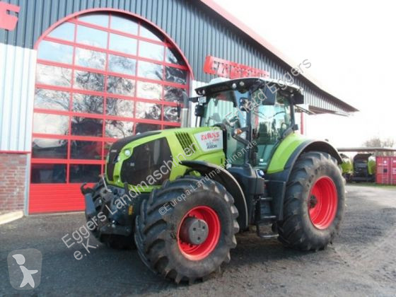 View images Claas Axion 830 CMATIC farm tractor