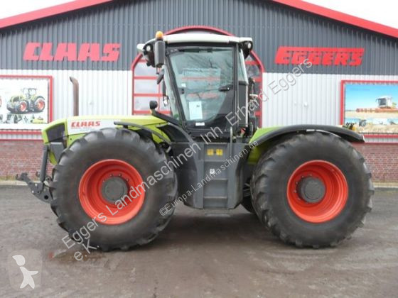 View images Claas XERION 3800 VC farm tractor