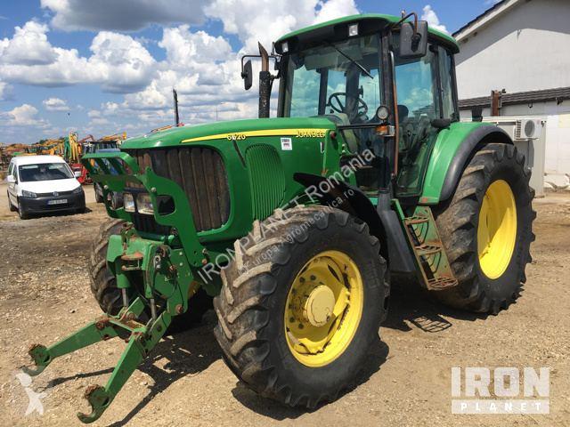 Voir les photos Tracteur agricole John Deere 6520