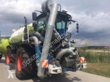 Claas Xerion 3800 Sattletrac, Ersteinsatz 2014, Güllegespann: SGT Aufbaufaß und Anhänger inkl. Bomech Vert Landwirtschaftstraktor