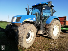 tracteur agricole New Holland T6080 RANGE COMMAND