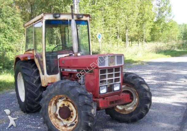 Tracteur agricole case ih 844sb occasion n 1407389 for Case agricole