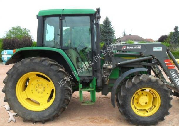 tracteur agricole john deere 6110 occasion n 1410150. Black Bedroom Furniture Sets. Home Design Ideas