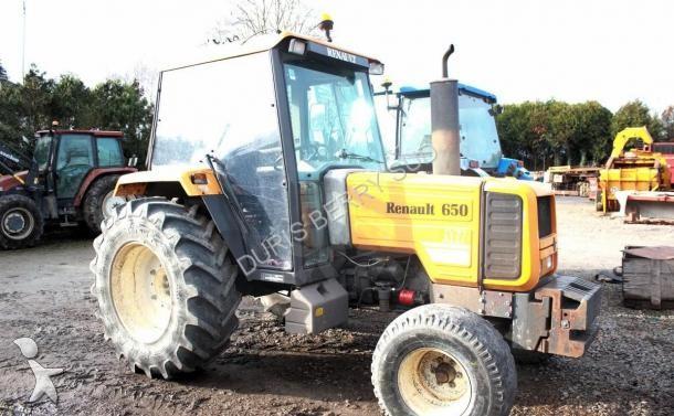 tracteur agricole renault 652 mi occasion