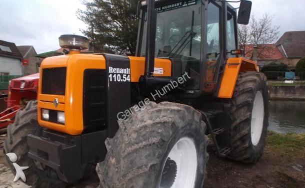 tracteur agricole renault 110 54 z occasion n 1570092. Black Bedroom Furniture Sets. Home Design Ideas