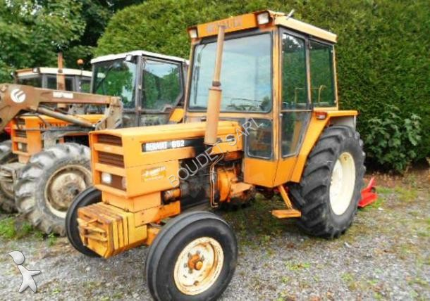 tracteur agricole renault 652 occasion n 1574444. Black Bedroom Furniture Sets. Home Design Ideas