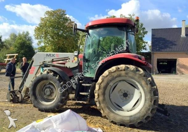 Tracteur agricole case ih maxxum 110 occasion n 1579964 for Case agricole