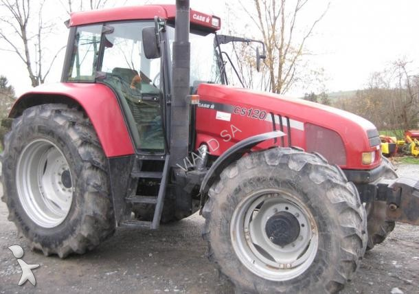 Tracteur agricole case ih cs120 occasion n 1580042 for Case agricole