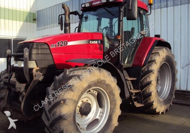 Tracteur agricole case ih case mx 120 occasion n 1597404 for Case agricole
