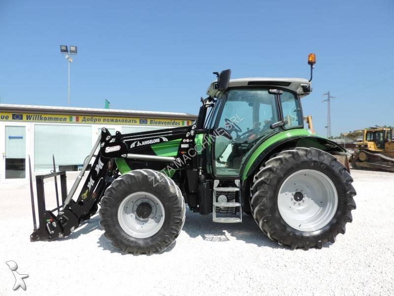 tracteur agricole deutz fahr agrotron k 410 occasion n 2007050. Black Bedroom Furniture Sets. Home Design Ideas