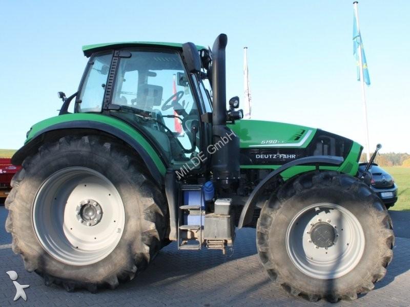 tracteur agricole deutz fahr 6190 ttv occasion n 2035502. Black Bedroom Furniture Sets. Home Design Ideas