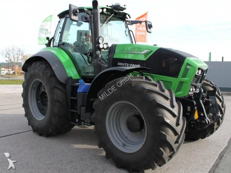 tracteur agricole deutz fahr agrotron 7250 ttv occasion n 2035503. Black Bedroom Furniture Sets. Home Design Ideas