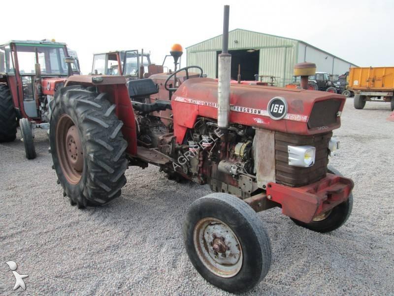 tracteur agricole occasion massey ferguson nc 168