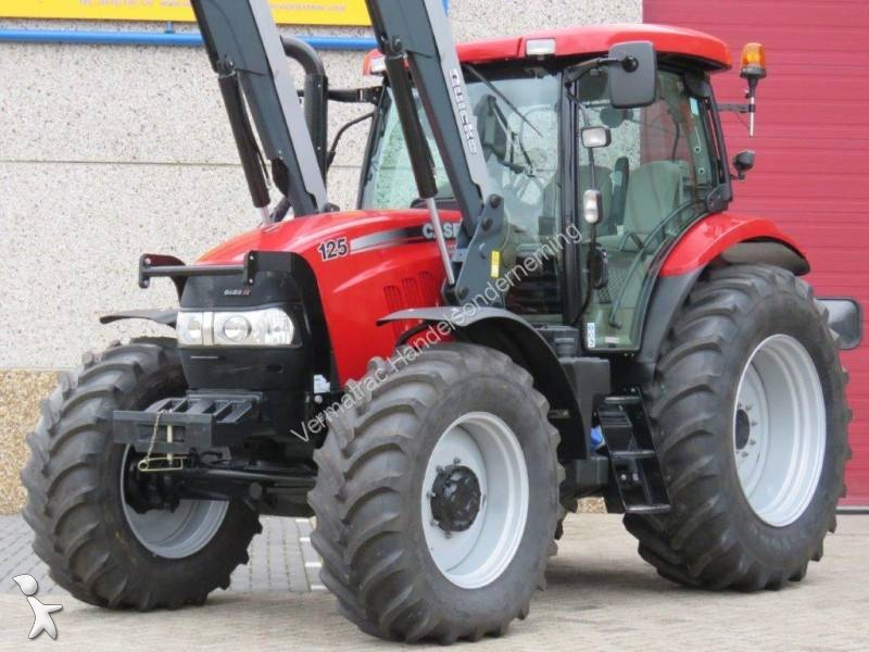 Tracteur agricole case maxxum 125 neuf n 2371142 for Case agricole