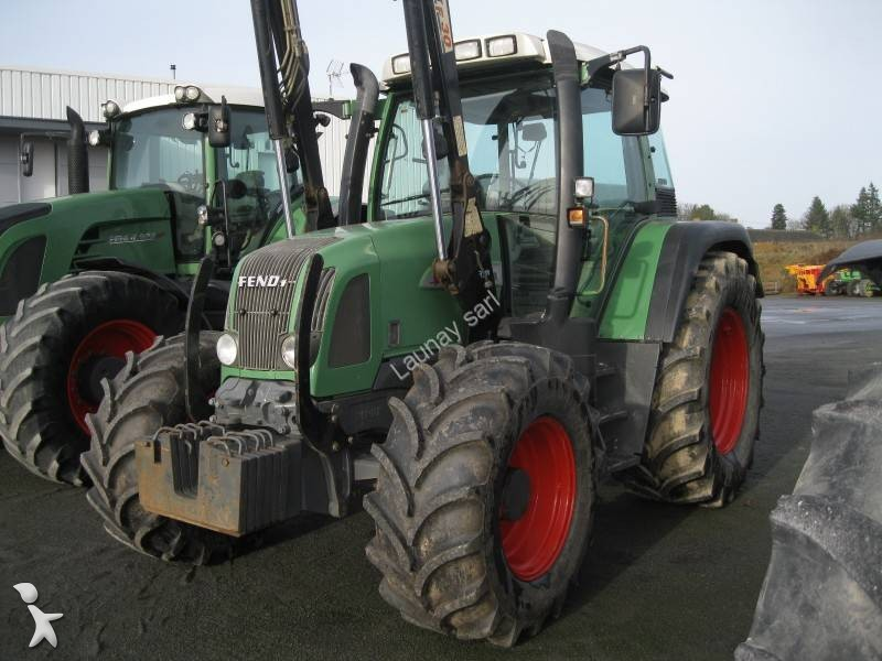 tracteur agricole fendt 409 vario grue occasion