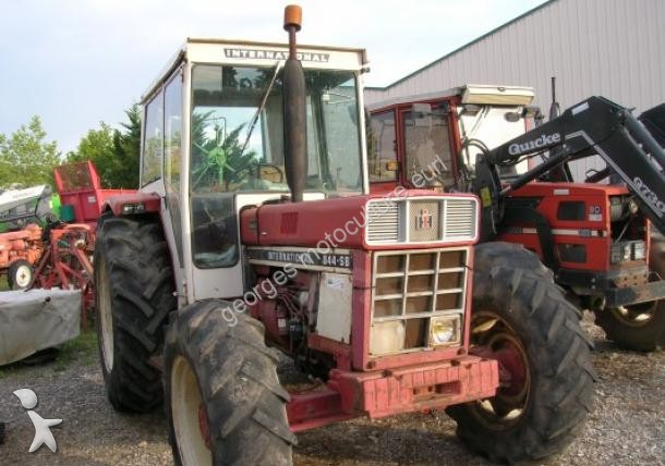 Tracteur agricole case ih 844 occasion n 1389718 for Case agricole