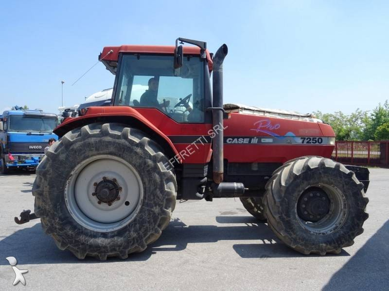 Tracteur agricole case 7250 4rm occasion n 2016893 for Case agricole
