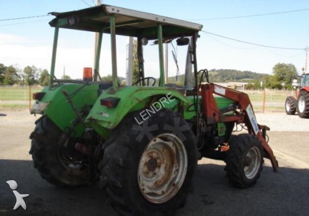 tracteur agricole deutz fahr 5207 occasion n 1461740. Black Bedroom Furniture Sets. Home Design Ideas