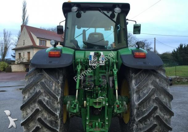 tracteur agricole john deere 7830 occasion