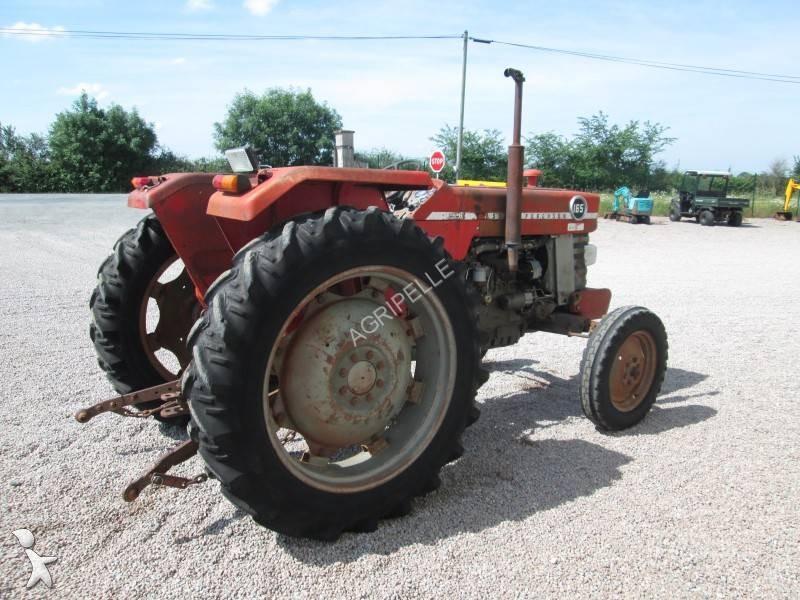 tracteur agricole occasion massey ferguson nc 165