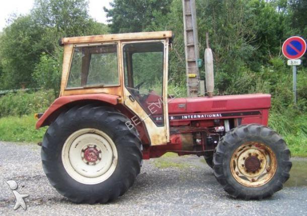 tracteur agricole case ih 844sb occasion n 1407389. Black Bedroom Furniture Sets. Home Design Ideas