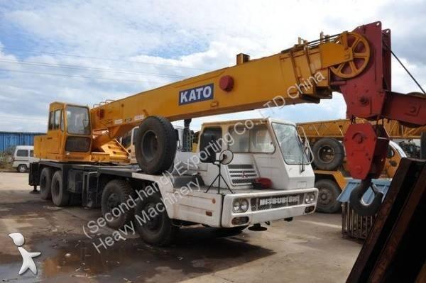 Vedeţi fotografiile Automacara Kato Used KATO NK300E Truck Crane