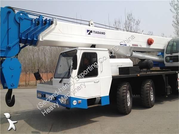 Voir les photos Grue Tadano Used Tadano TG900E Truck Crane 90Tons