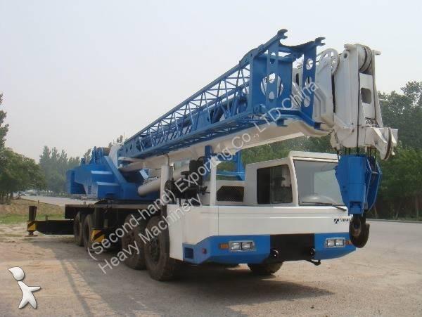 Кран Tadano Used Tadano 75Tonbs GT750E Truck Crane