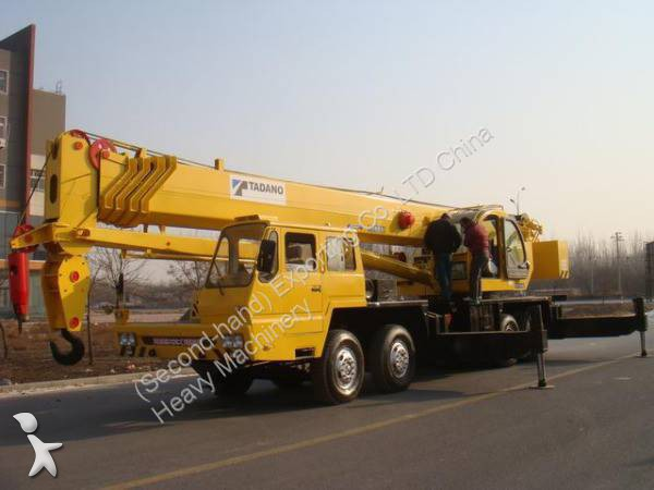 Vedeţi fotografiile Automacara Tadano Used TADANO TG550E Truck Crane