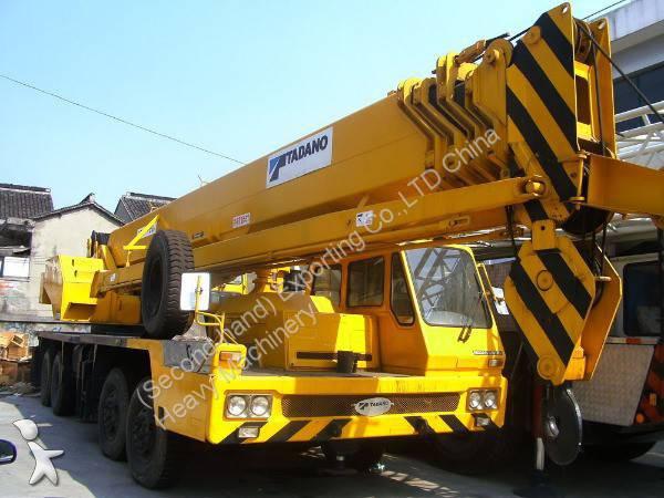 Prohlédnout fotografie Jeřáb Tadano Used Tadano 55ton Truck Crane GT550E