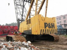 P&H crawler crane