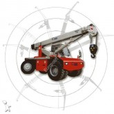grue Bencini SP120 12 ton