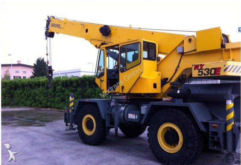 Used Grove Cranes : Used grove mobile crane rt e n?