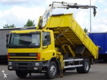 DAF 65 CF TIPPER WITH CRANE / STEEL SUSPENSION